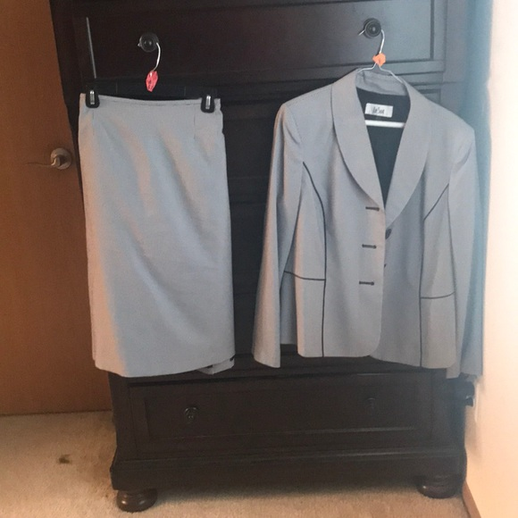 Le Suit Skirts Womens Size 16 Skirt Suit From Macys Poshmark